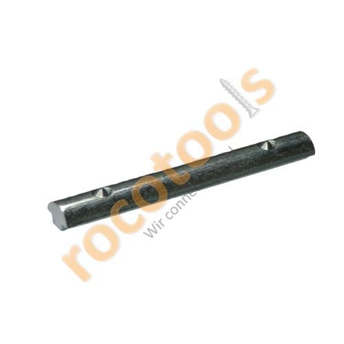 Nutenstein Nut 8, 2xM8/80, schiebbar feststellbar, Stahl verz.