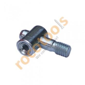 Mittelspanner Gewinde für Nut 8 Profil 40, Stahl verz.