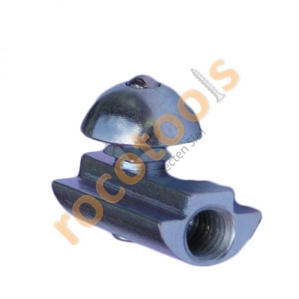 Profilspanner rund Vds für Nut 8 Profil 40, Stahl verz.