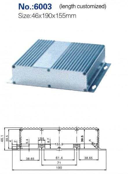 Profilgehäuse 131-6003
